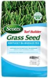 Scotts Turf Builder Grass Kentucky Bluegrass Mix-7 lb, Use in Full Sun, Light Shade, Fine Bladed Texture, and Medium Drought Resistance, Seeds up to 4,725 sq. ft