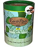 EarthPods Ficus + Fiddle Leaf Fig Tree Fertilizer [Premium] – Easy Organic Plant Food Spikes – 100 Capsules – Enhance Color, Root + Foliar Growth (Also Great on Monstera, Dracaena, Pothos, Calathea)