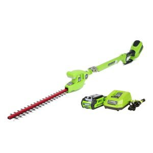 Greenworks Top Battery Powered Long Reach Trimmer
