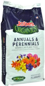Jobe's plant food will allow for greener and healthier foliage