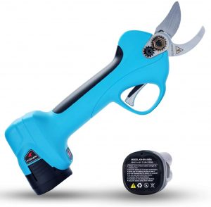 Koham's pruner is used by professionals to cut branches
