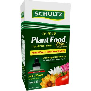 Schultz cabbage food uses just 7 drops to feed plants