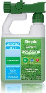 Simple lawns nitrogen fertilizer can speed decomposition