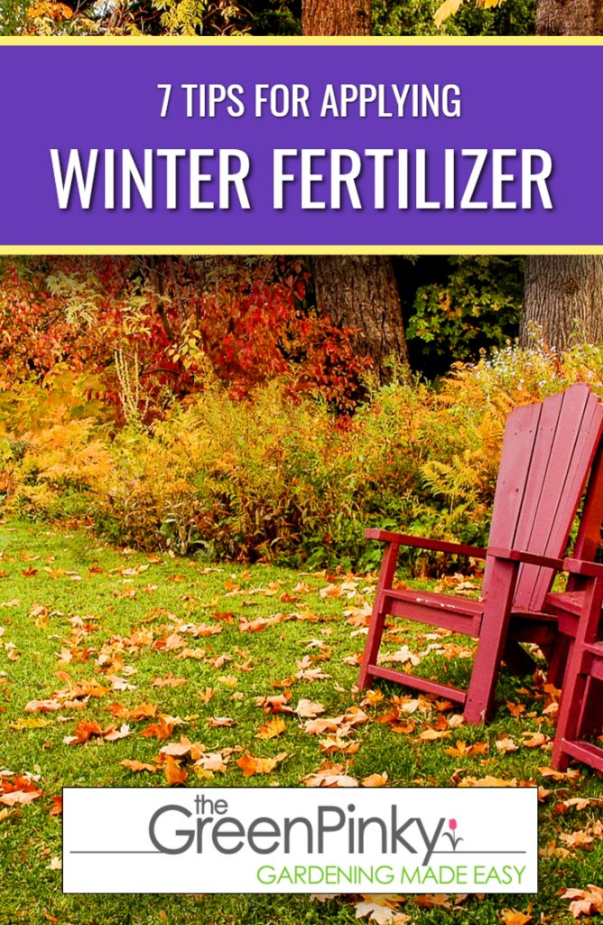 Winter fertilizer is needed to prepare your lawn for the winter.