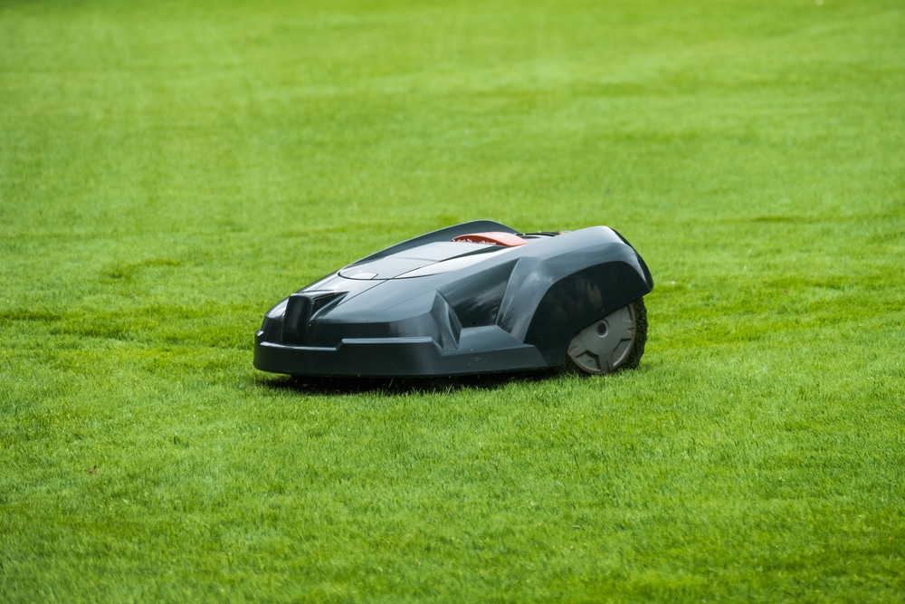An automated, smart, wifi-based lawn mower