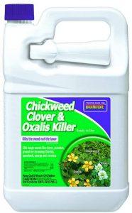 Mecoprop found in bonide's clover killer is a broadleaf selective killer