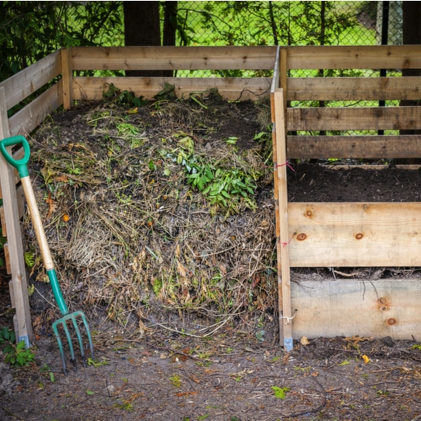 Cedar compost bin makes a great DIY project