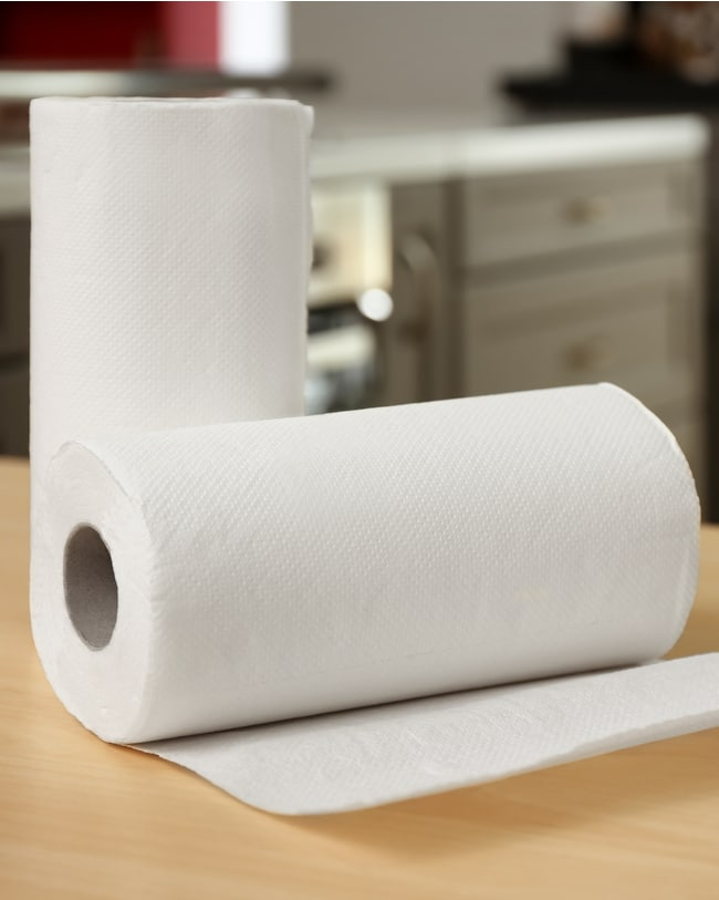 Biodegradable paper towels can be used for composting.