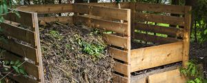 Compost bin that is a DIY project