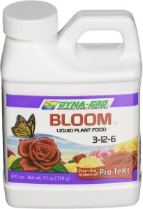 Dyna-grow will help your geranium bloom