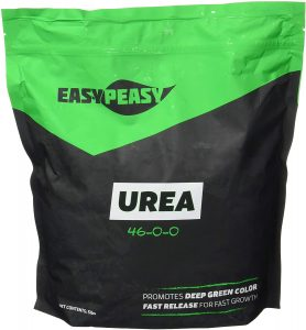 High concentration urea fertilizer for optimal root growth.