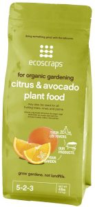 Organic nutrients provided to citrus will allow robust root growth