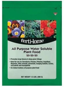 Feri-lome is one of our recommended fertilizers