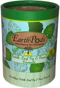 Earthpods ficus fertilizer will help introduce healthy microorganisms and nutrition