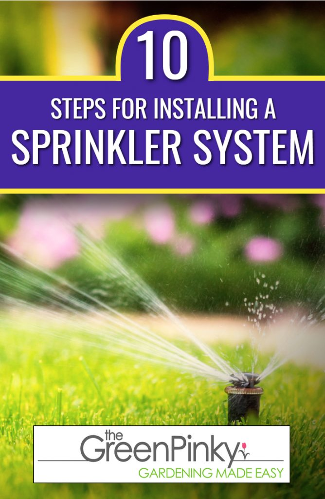 Sprinklers need proper installation to run appropriately