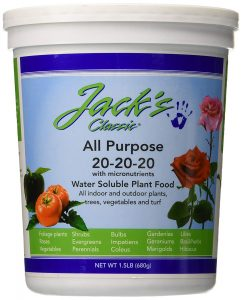 Jacks ideal nutrients for cabbage helps with fast growth
