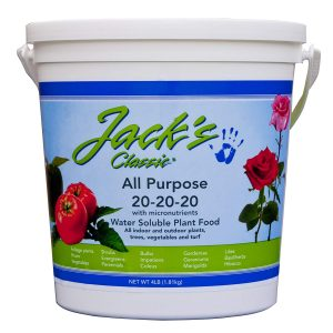 Jacks all purpose fertilizer is one of the best