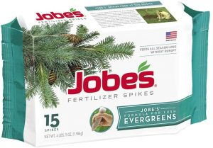 Spike fertilization is easy to use and allows for robust growth
