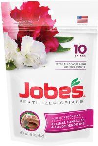 Jobe's fertilizer spikes makes fertilizing easy