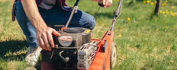 having a functioning lawn mower is important