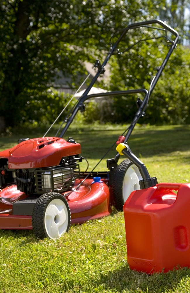 Both oil and gas in a lawn mower need to be changed.