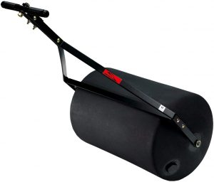 A lawn roller should be used after you seed your ground