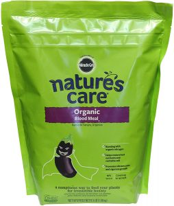 Organic blood meal 12-0-0 by nature's care