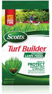 Scotts turf builder is excellent nutrients for a lush lawn