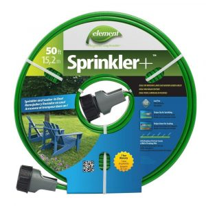 Ideal soaking hose that delivers proper amount of water.