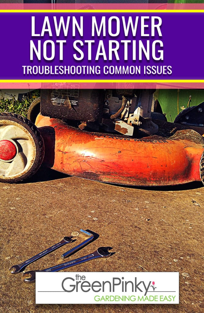 Learn how to trouble common issues that might prevent your lawn mower from starting