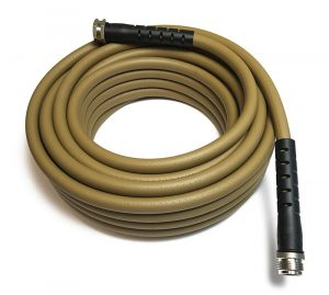 Water right soaker hose is recommended to prevent spraying foliage